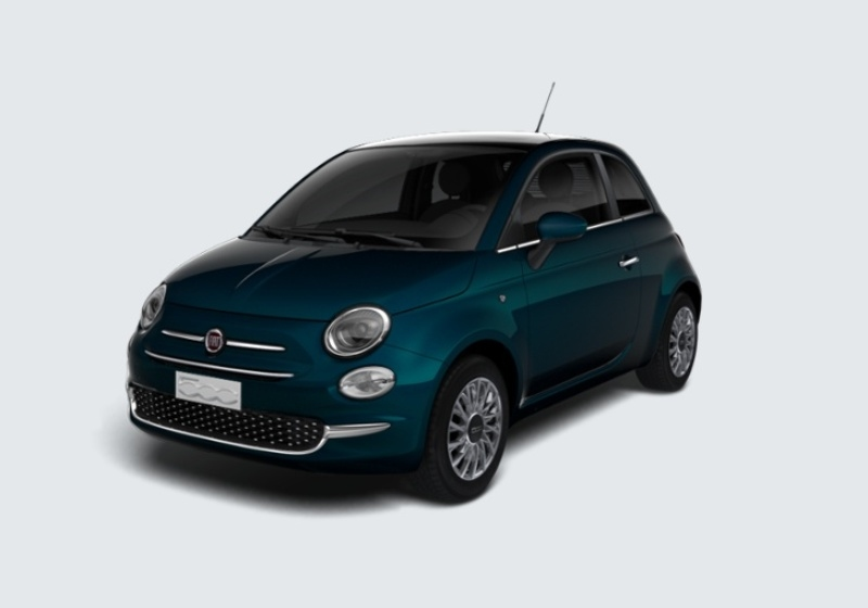 FIAT 500 1.2 EasyPower Lounge MY 19 Blu dipinto di Blu Km 0 0000VLY-24674_esterno_lato_1