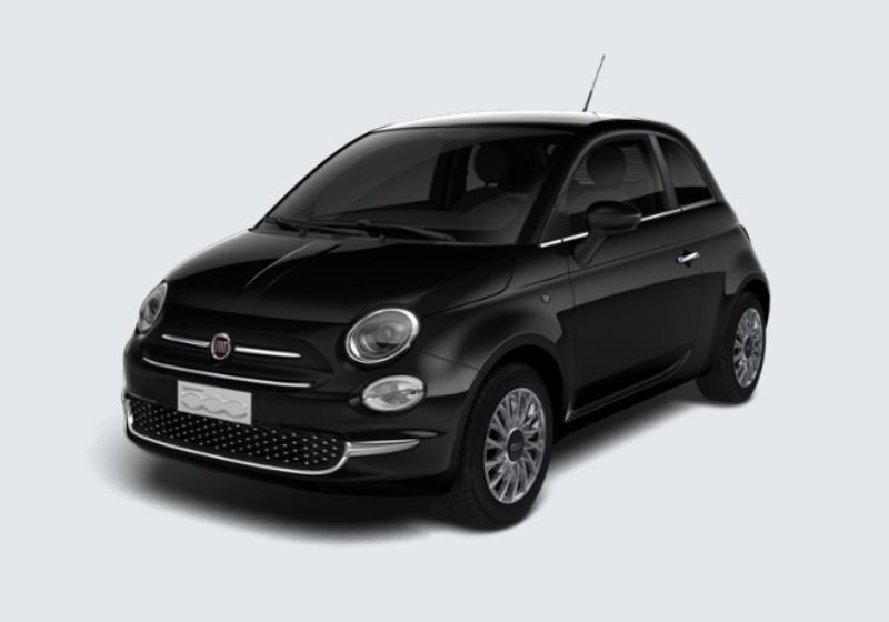 FIAT 500 1.2 EasyPower Lounge MY 19 Nero Vesuvio Km 0 0000VL2-24676_esterno_lato_1