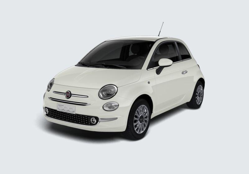 FIAT 500 1.2 EasyPower Lounge Bianco Gelato Km 0 P40BF4P-40274_esterno_lato_1