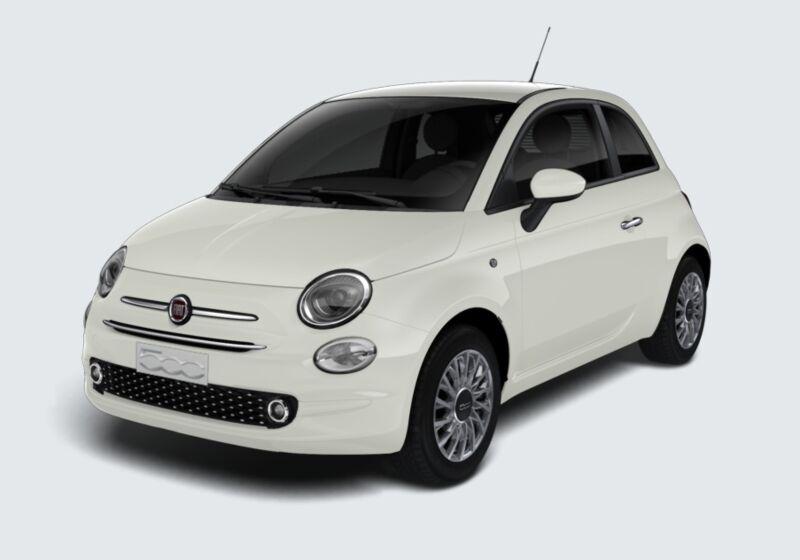 FIAT 500 1.2 EasyPower Lounge Bianco Gelato Km 0 GG0CGGG-73992_esterno_lato_1