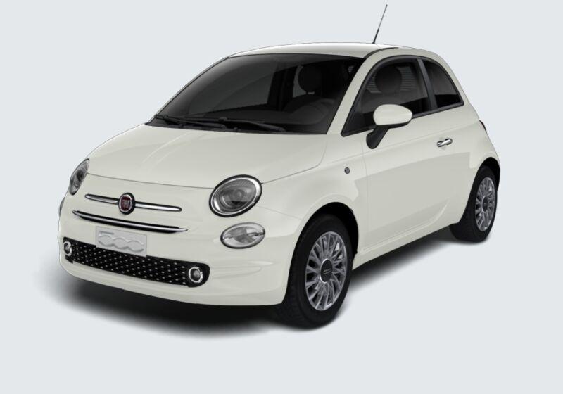 FIAT 500 1.2 EasyPower Lounge Bianco Gelato Da immatricolare RV0BZVR-65397_esterno_lato_1