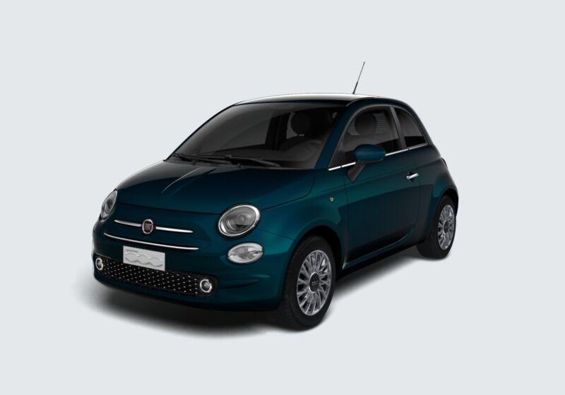 FIAT 500 1.2 EasyPower Lounge Blu dipinto di Blu Km 0 420CC24-67690_esterno_lato_1