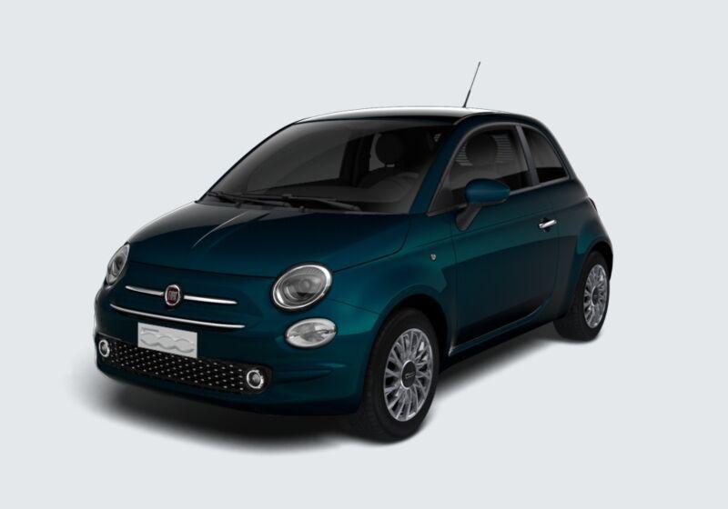 FIAT 500 1.2 EasyPower Lounge Blu dipinto di Blu Km 0 9R0CJR9-77498_esterno_lato_1