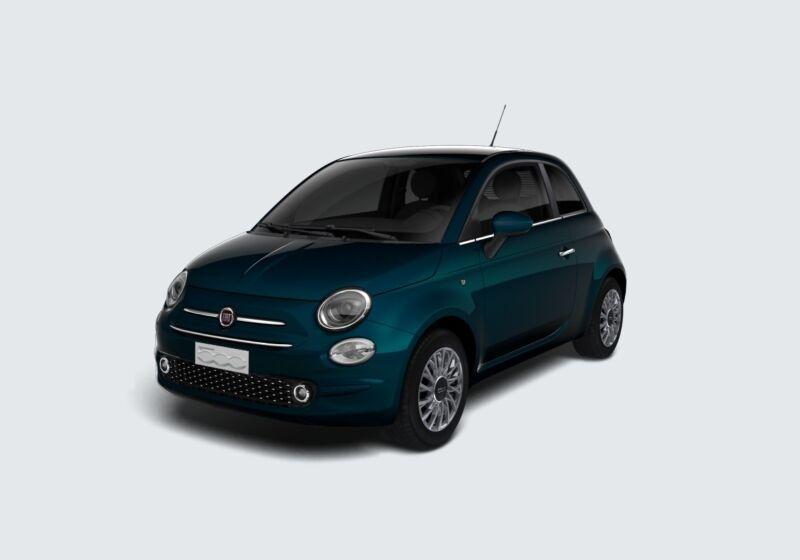 FIAT 500 1.2 EasyPower Lounge Blu dipinto di Blu Km 0 AS0B8SA-57024_esterno_lato_1