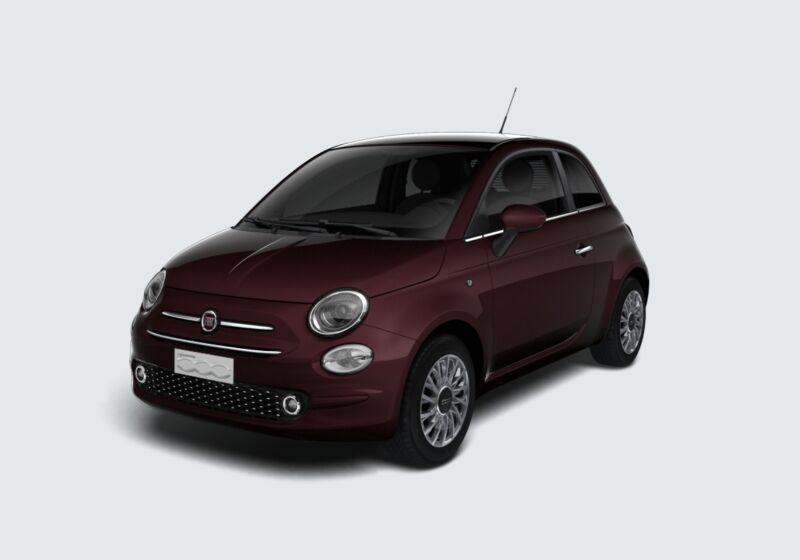 FIAT 500 1.2 EasyPower Lounge Bordeaux Opera Km 0 3S0B8S3-57030_esterno_lato_1