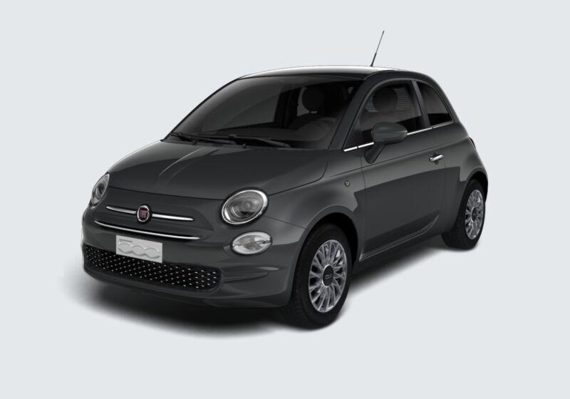 FIAT 500 1.2 EasyPower Lounge Grigio Carrara Km 0 2U0B5U2-46882_esterno_lato_1