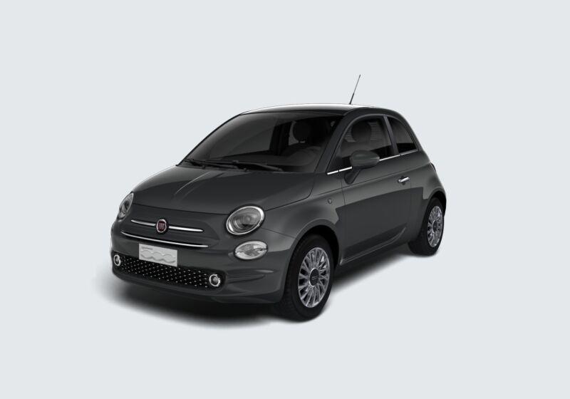 FIAT 500 1.2 EasyPower Lounge Grigio Carrara Km 0 T40BW4T-61784_esterno_lato_1
