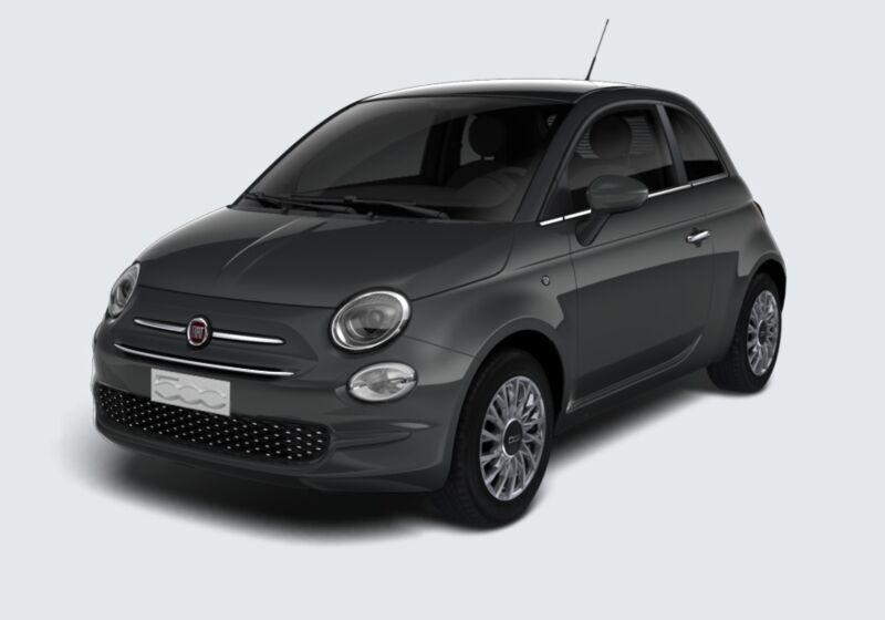 FIAT 500 1.2 EasyPower Lounge Grigio Carrara Km 0 ZZ0BTZZ-58367_esterno_lato_1