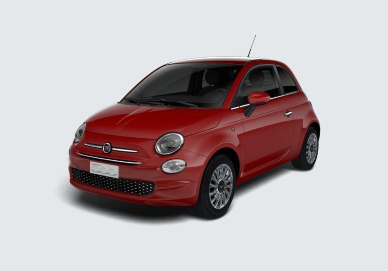 FIAT 500 1.2 EasyPower Lounge Rosso Passione Km 0 FC0BMCF-48199_esterno_lato_1