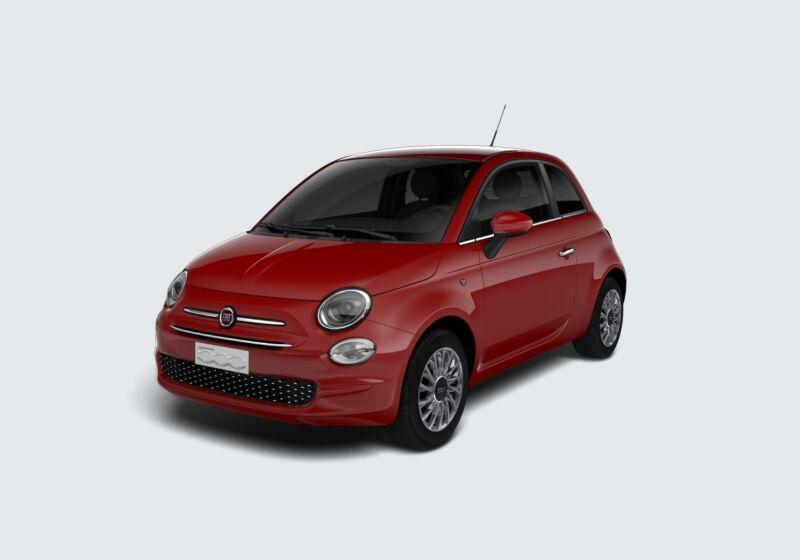 FIAT 500 1.2 EasyPower Lounge Rosso Passione Km 0 MY0BXYM-63439_esterno_lato_1