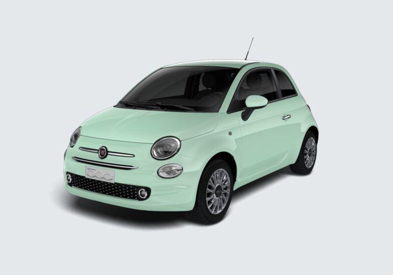FIAT 500 1.2 EasyPower Lounge Verde Lattementa Km 0 6K0CBK6-66960_esterno_lato_1