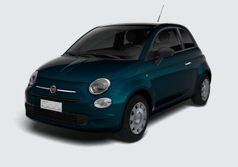 FIAT 500 1.2 EasyPower Pop Blu dipinto di Blu Km 0 HV0BZVH-65385_esterno_lato_1