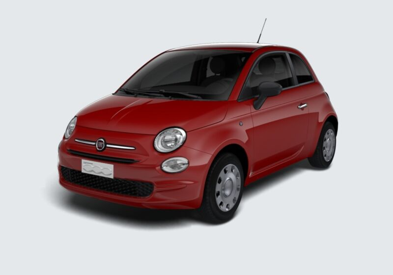 FIAT 500 1.2 EasyPower Pop Rosso Passione Km 0 7D0BMD7-48020_esterno_lato_1