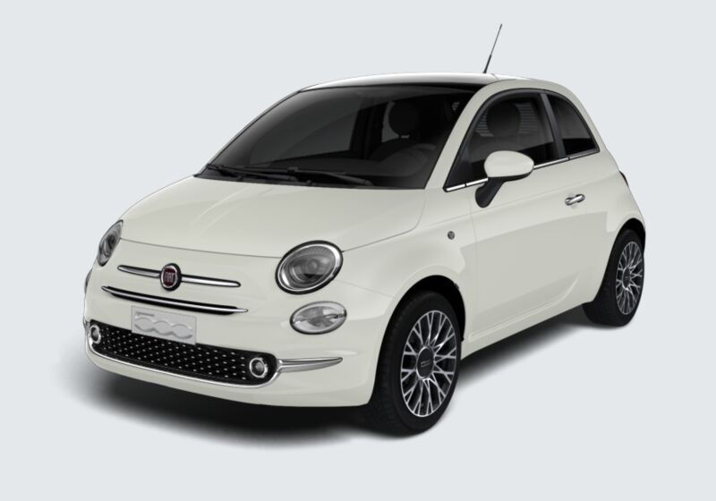 FIAT 500 1.2 EasyPower Star Bianco Gelato Km 0 HG0BJGH-44297_esterno_lato_1
