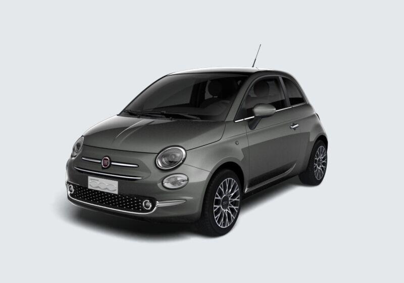 FIAT 500 1.2 EasyPower Star Grigio Colosseo Km 0 FF0BJFF-44263_esterno_lato_1