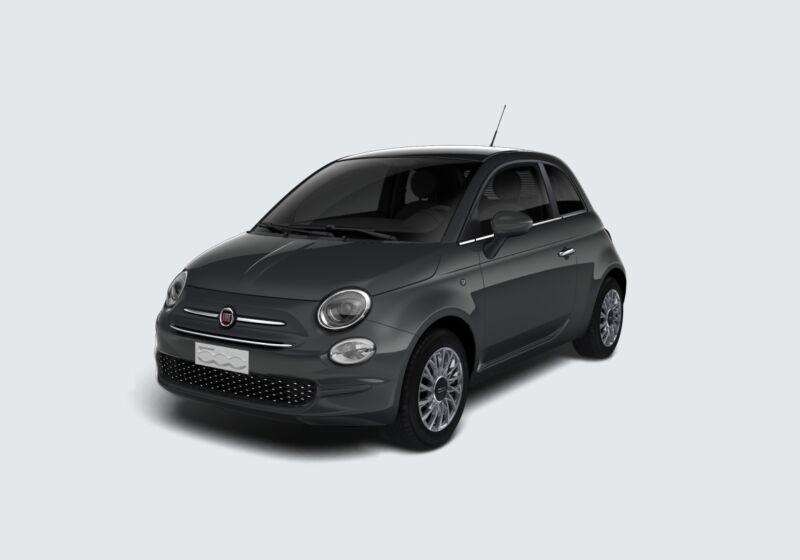 FIAT 500 1.2 Lounge 69cv Grigio Carrara Km 0 A40B64A-49472_esterno_lato_1