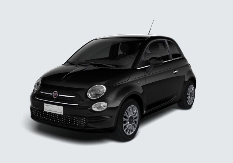 FIAT 500 1.2 Lounge 69cv Nero Vesuvio Km 0 VK0B7KV-52635_esterno_lato_1