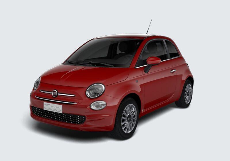 FIAT 500 1.2 Lounge 69cv Rosso Passione Km 0 870B578-46711_esterno_lato_1