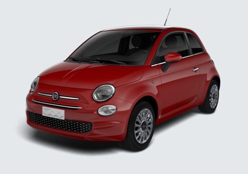 FIAT 500 1.2 Lounge 69cv Rosso Passione Km 0 BY0BJYB-44993_esterno_lato_1