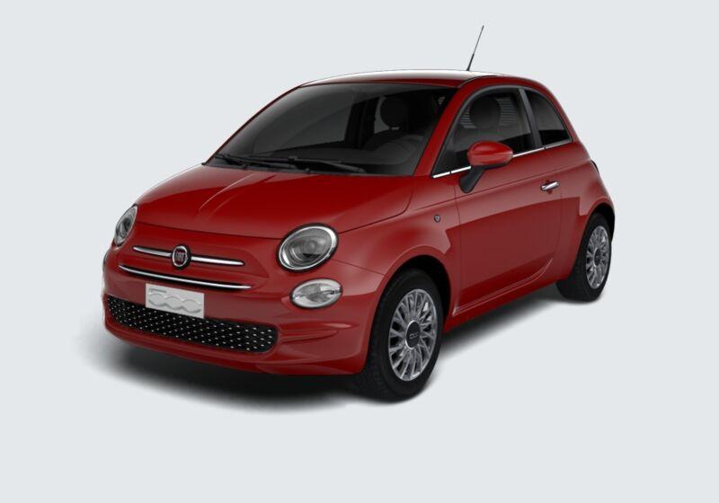 FIAT 500 1.2 Lounge 69cv Rosso Passione Km 0 HH0B5HH-46377_esterno_lato_1