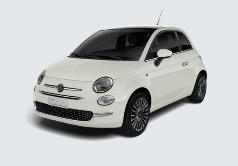 FIAT 500 1.2 Lounge 69cv Bianco Gelato Km 0 EAW0WAE-28677_esterno_lato_1
