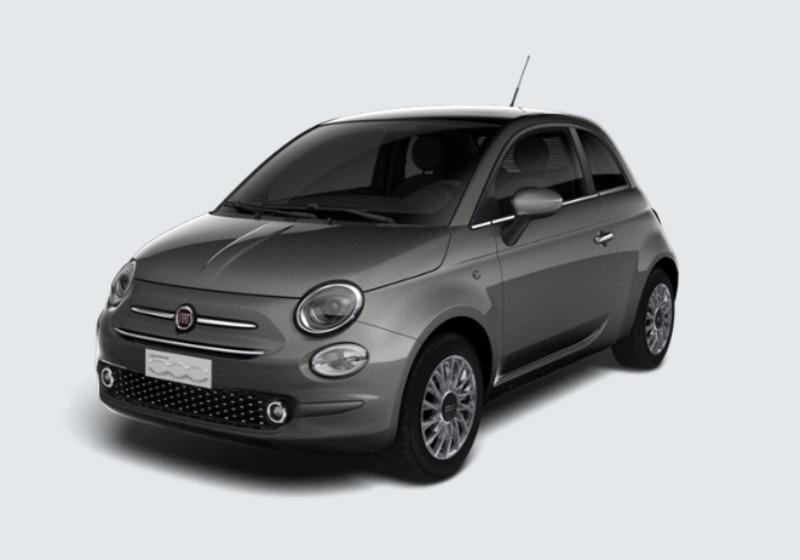 FIAT 500 1.2 Lounge 69cv Grigio Colosseo Km 0 0000V86-0a
