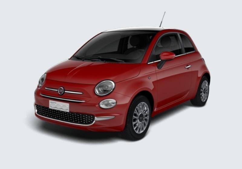 FIAT 500 1.2 Lounge 69cv Rosso Passione Km 0 GYV0VYG-28616_esterno_lato_1