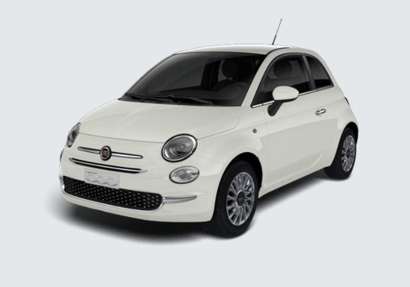 FIAT 500 1.2 Lounge 69cv Bianco Gelato Km 0 CT0BETC-38658_esterno_lato_1