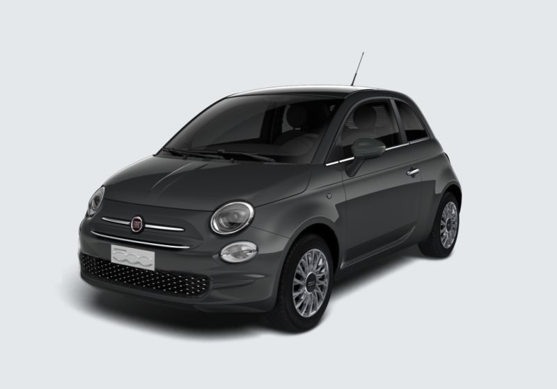 FIAT 500 1.2 Lounge 69cv Grigio Carrara Km 0 KE0BGEK-a