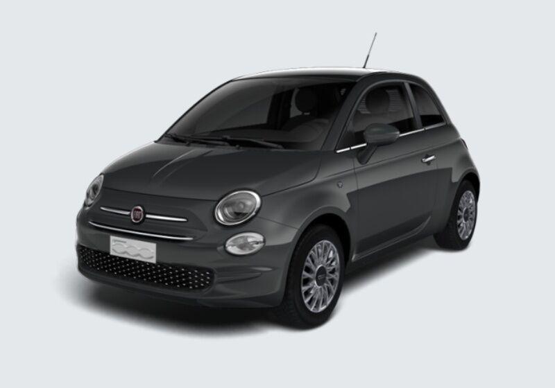 FIAT 500 1.2 Lounge 69cv Grigio Carrara Km 0 RQ0BDQR-37525_esterno_lato_1