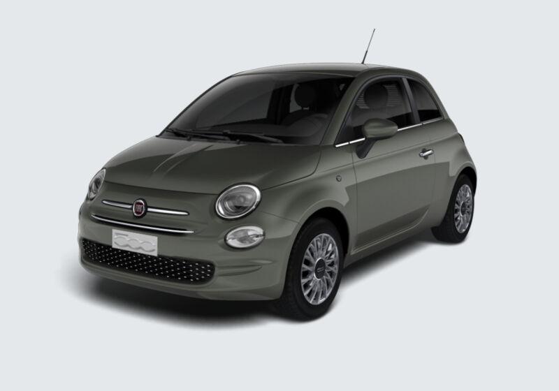 FIAT 500 1.2 Lounge 69cv Grigio Colosseo Km 0 LY0B4YL-43982_esterno_lato_1-v1