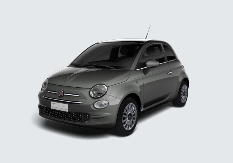 FIAT 500 1.2 Lounge 69cv Grigio Pompei Km 0 530B435-43213_esterno_lato_1