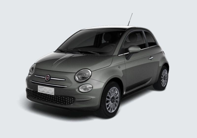 FIAT 500 1.2 Lounge 69cv Grigio Pompei Km 0 R90BC9R-35669_esterno_lato_1