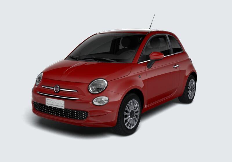FIAT 500 1.2 Lounge 69cv Rosso Passione Km 0 U20B42U-43129_esterno_lato_1