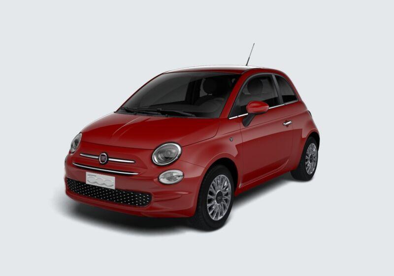 FIAT 500 1.2 Lounge 69cv Rosso Passione Km 0 VD0B4DV-43163_esterno_lato_1