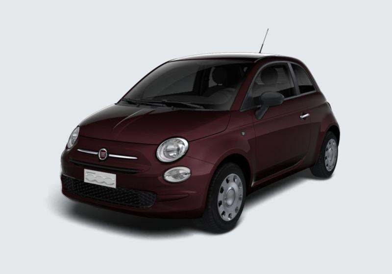FIAT 500 1.2 Pop Bordeaux Opera Km 0 460BF64-40458_esterno_lato_1