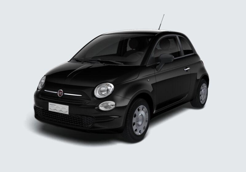 FIAT 500 1.2 Pop Nero Vesuvio Km 0 4V0BFV4-40810_esterno_lato_1