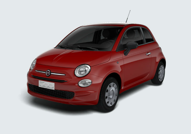 FIAT 500 1.2 Pop Rosso Passione Km 0 0000VKP-a