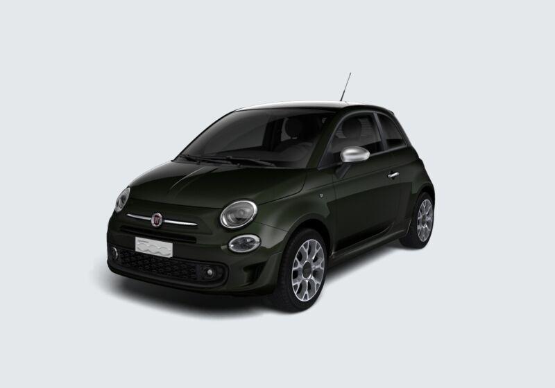 FIAT 500 1.2 Rockstar Grigio Colosseo Km 0 F20BU2F-58471_esterno_lato_1