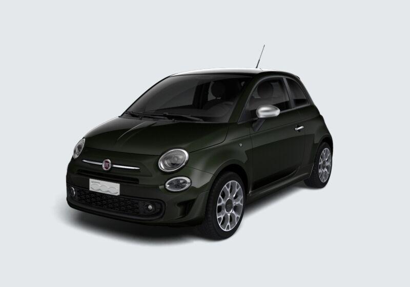 FIAT 500 1.2 Rockstar Grigio Colosseo Km 0 XL0B7LX-52701_esterno_lato_1