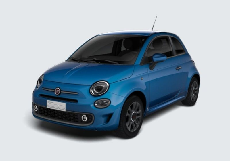FIAT 500 1.2 S MY 19 Azzurro Italia Km 0 25Z0Z52-32163_esterno_lato_1