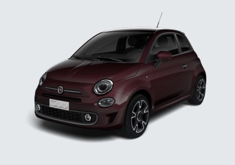 FIAT 500 1.2 S MY 19 Bordeaux Opera Km 0 JZV0VZJ-28651_esterno_lato_1