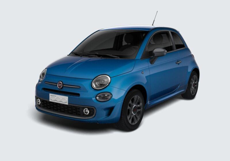 FIAT 500 1.2 Sport Azzurro Italia Km 0 930BM39-48346_esterno_lato_1