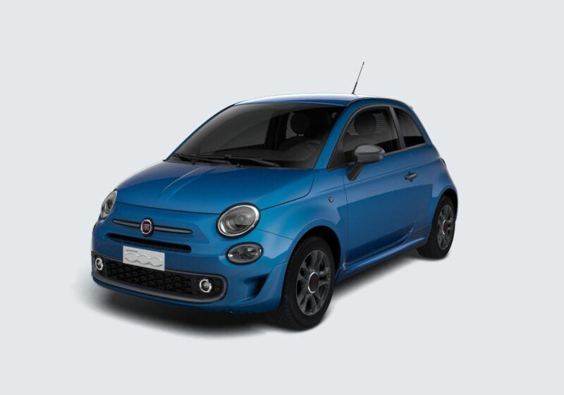FIAT 500 1.2 Sport Azzurro Italia Km 0 AE0BMEA-48288_esterno_lato_1