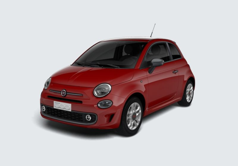 FIAT 500 1.2 Sport Rosso Passione Km 0 770B377-39539_esterno_lato_1