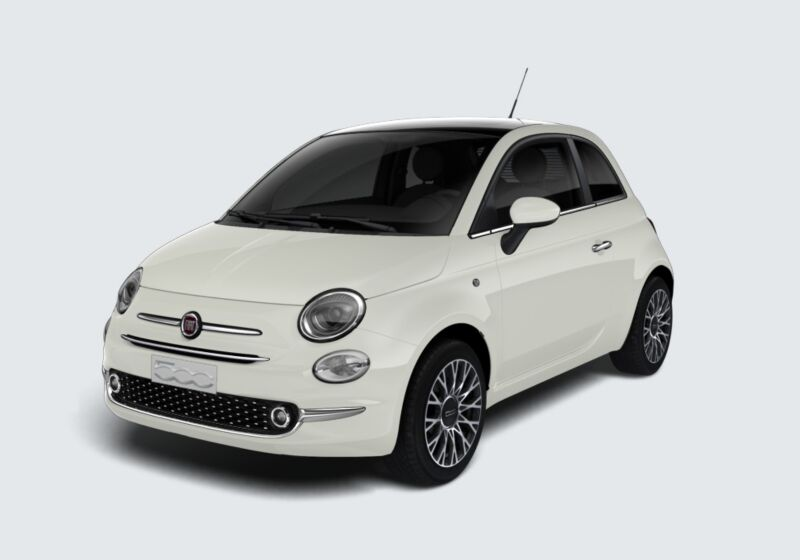 FIAT 500 1.2 Star Bianco Gelato Km 0 PG0B6GP-49426_esterno_lato_1