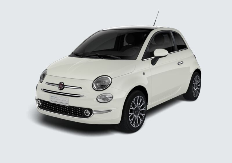 FIAT 500 1.2 Star Bianco Gelato Km 0 VM0B6MV-47353_esterno_lato_1
