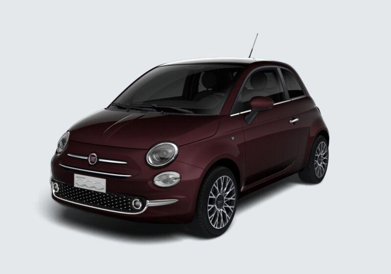 FIAT 500 1.2 Star Bordeaux Opera Km 0 9Y0BJY9-45018_esterno_lato_1