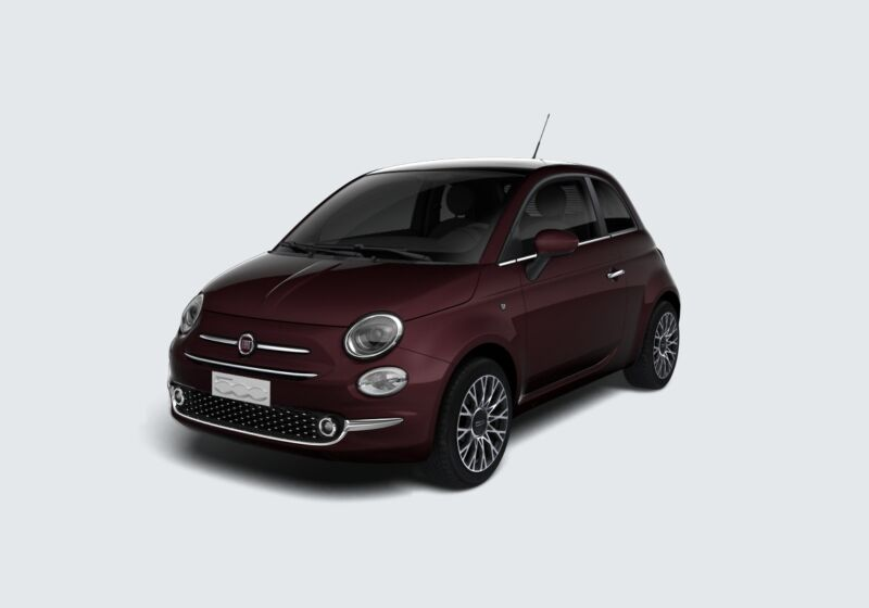 FIAT 500 1.2 Star Bordeaux Opera Km 0 K60BF6K-40460_esterno_lato_1