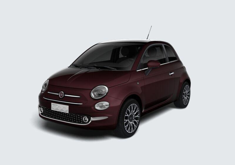 FIAT 500 1.2 Star Bordeaux Opera Km 0 TY0BJYT-45016_esterno_lato_1